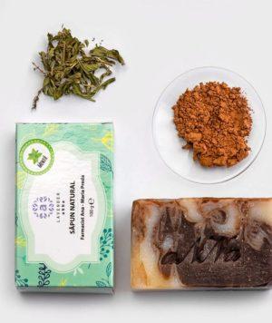 Spuma cremoasa cu aroma de ciocolata si menta